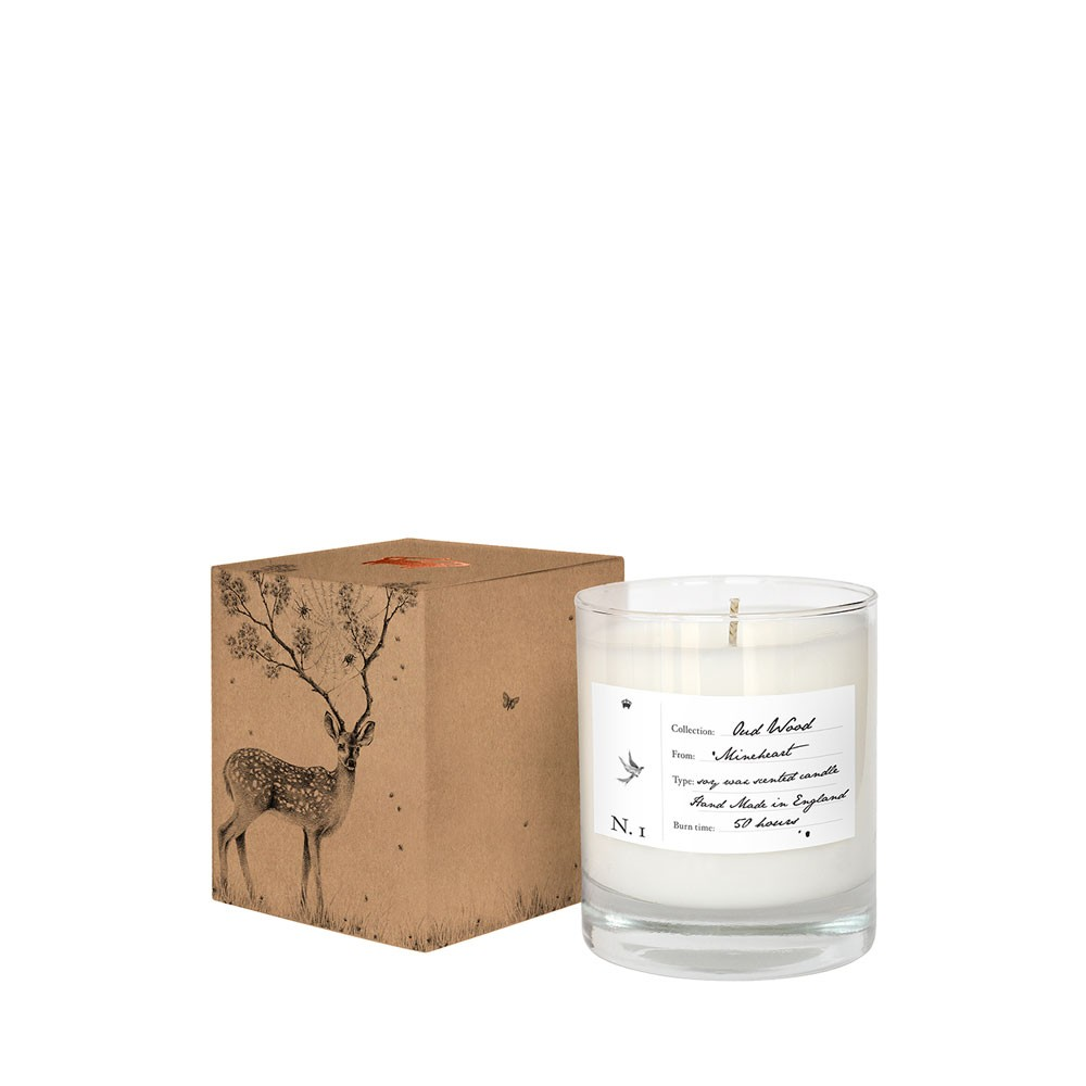 Oud Wood Scented X SWY Gift Bag Candles Set