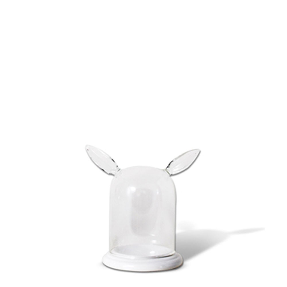 Orchard Companions Bell Jar Ring Holders - Doe Ear