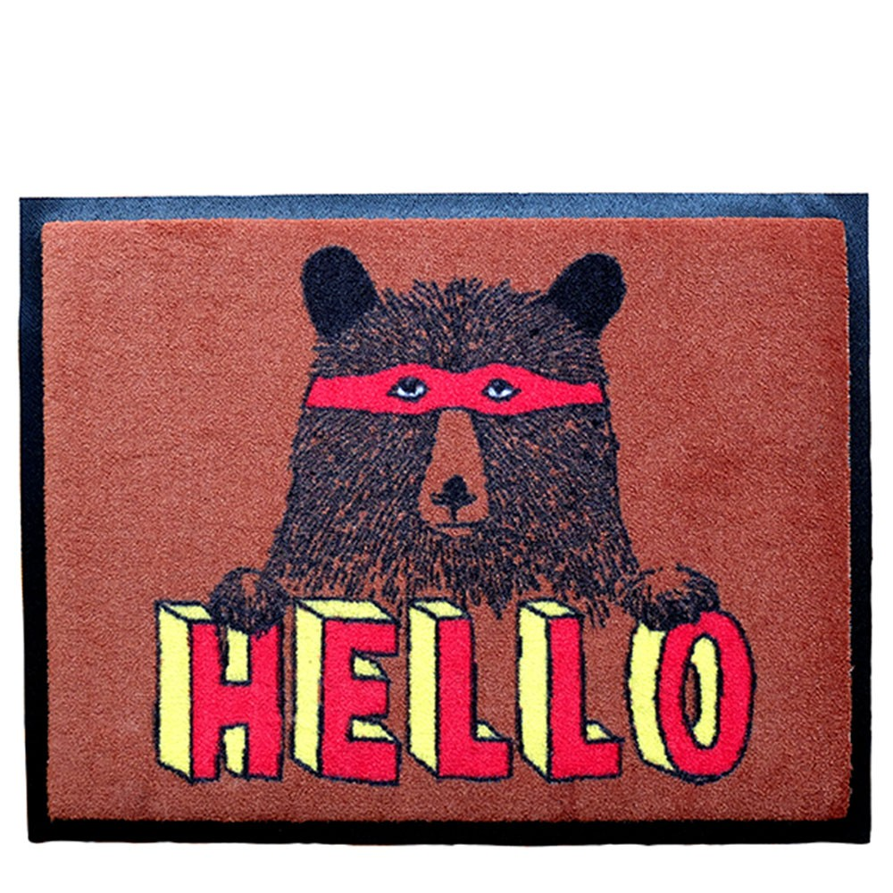 Hello Bear Welcome Door Mat