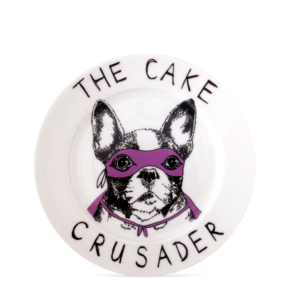 The Cake Crusader Side Plate