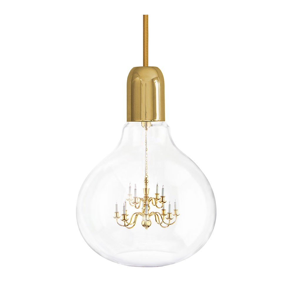 King Edison Pendant Lamp - Gold