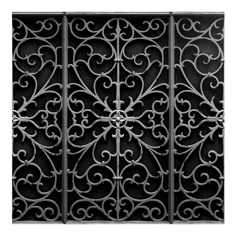 wrought metal gate wallpaper astyle art living