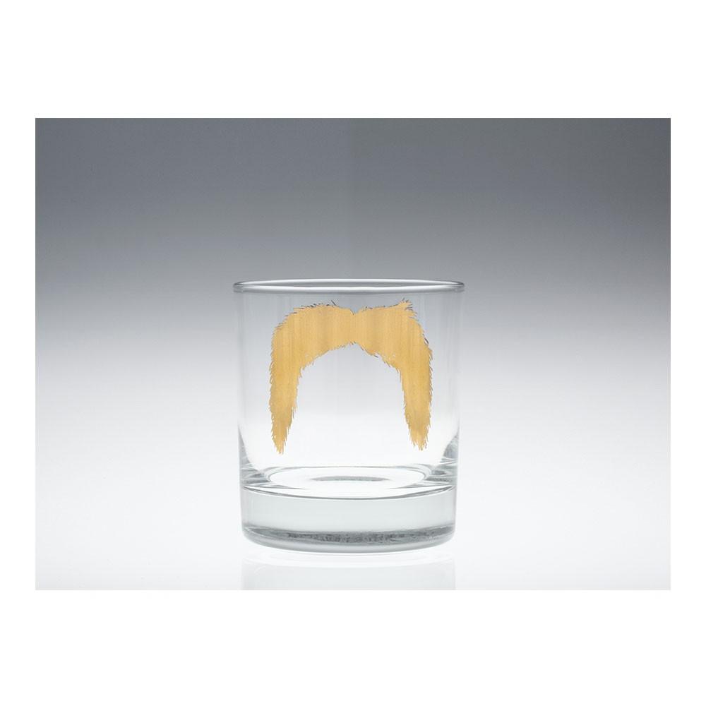 Moustache Magnum Tumbler Gold