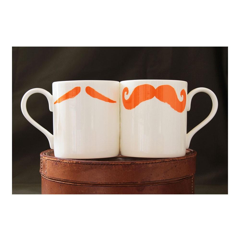 Moustache Mug - Maurice Poirot Ginger