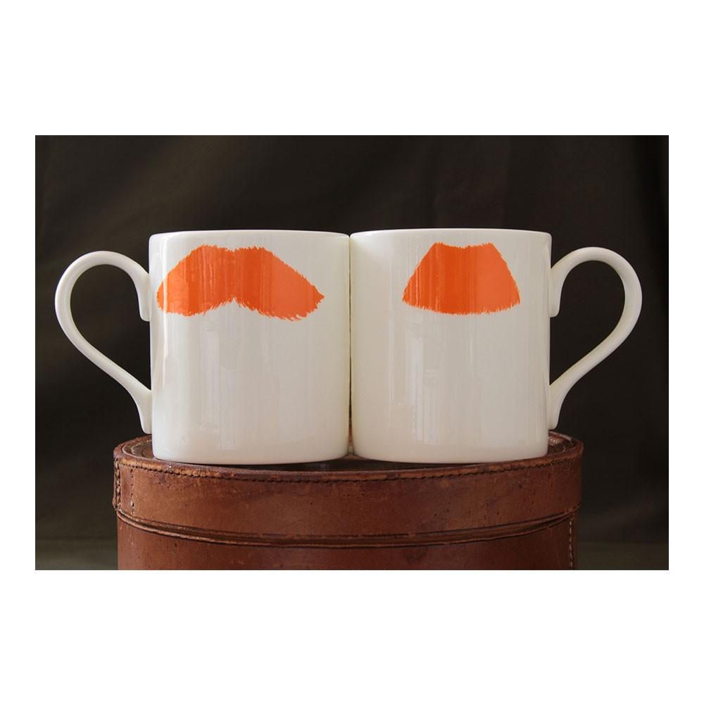 Moustache Mug - Mustafa Chaplin Ginger