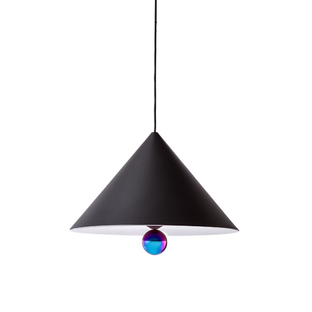 Cherry Pendant Lamp - Black/Rainbow (Large)