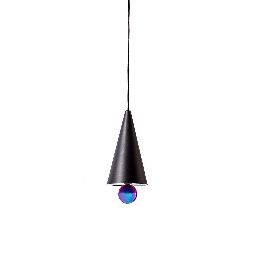 Cherry Pendant Lamp - Black/Rainbow (Small)