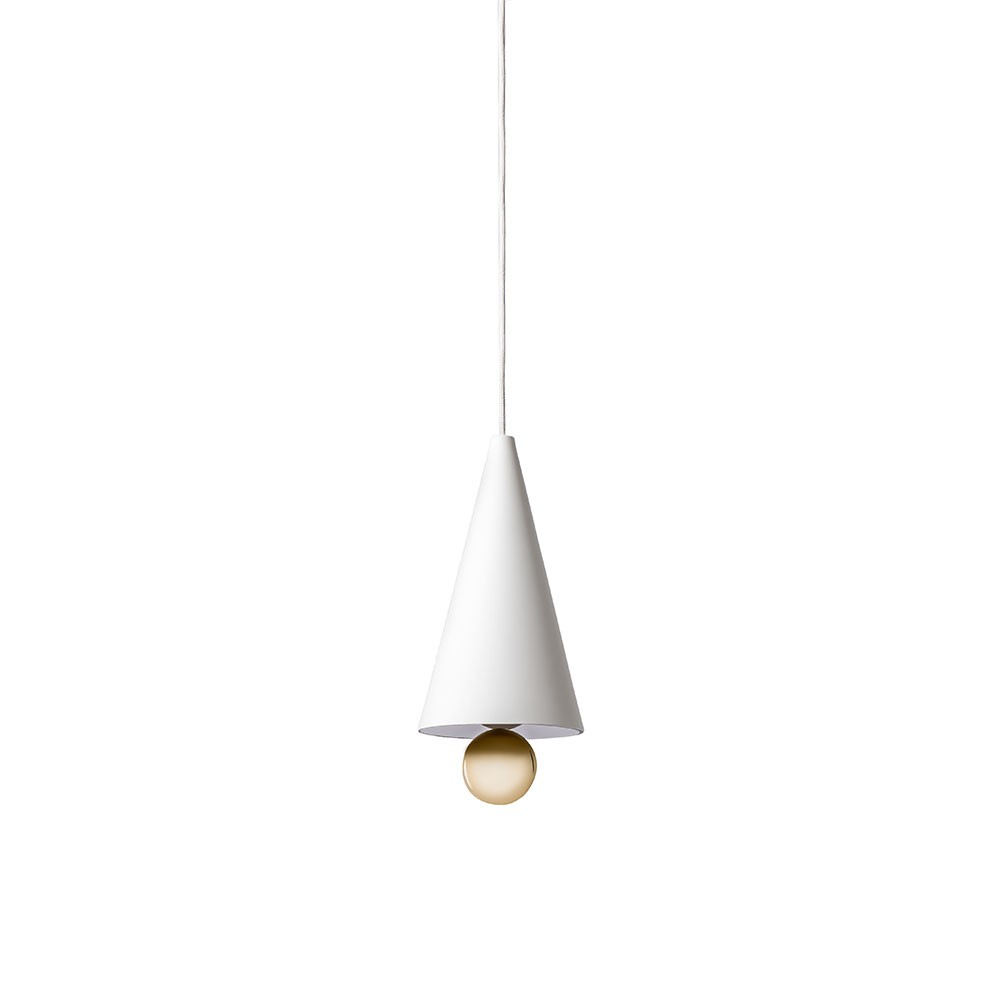 CHERRY Pendant Lamp - White/Gold