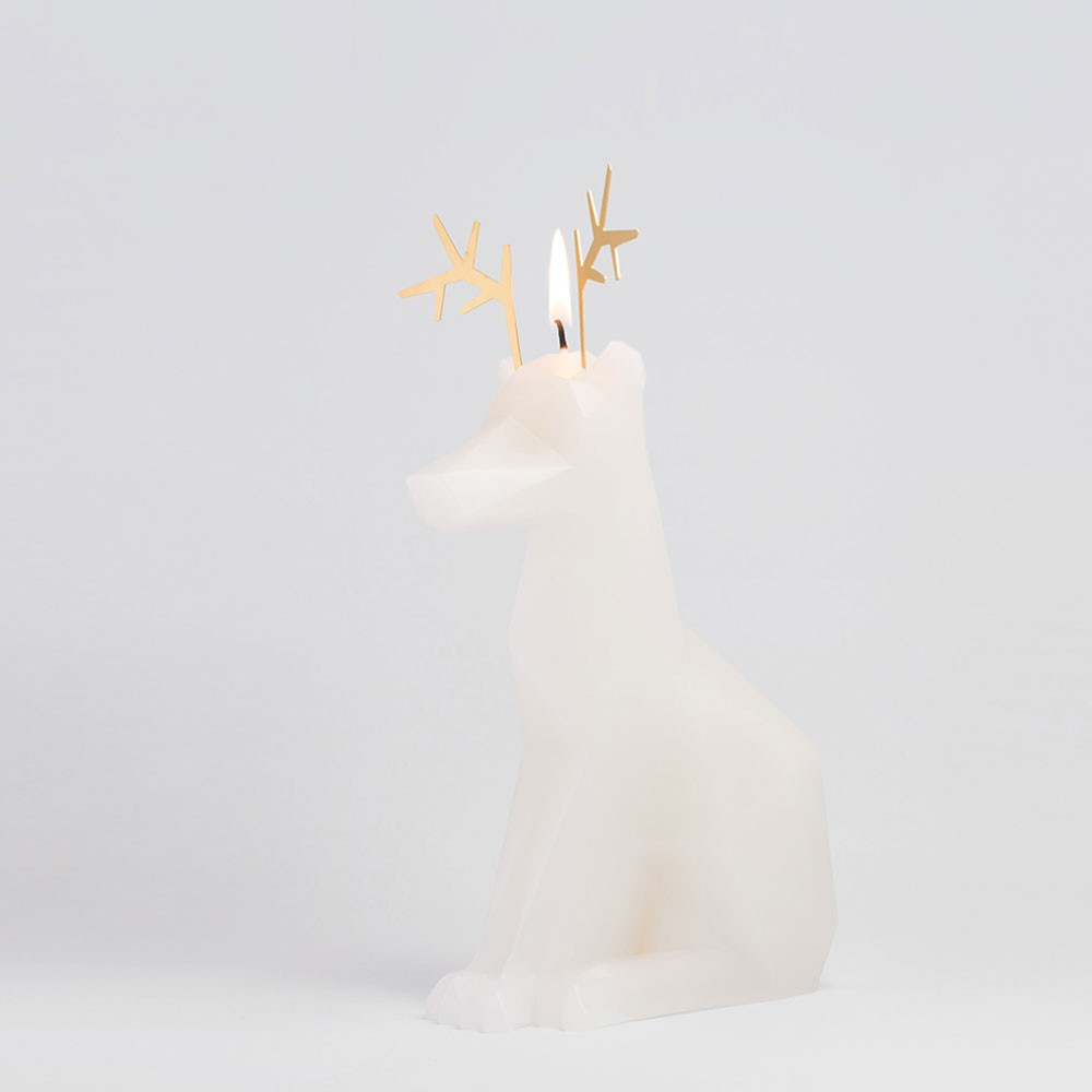 PyroPet DYRI Candle - White