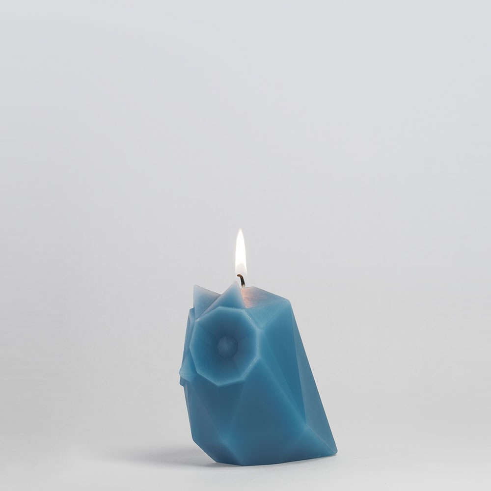 PyroPet UGLA Candle - Dusky Blue