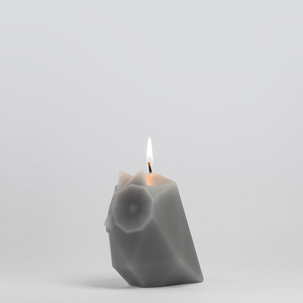 PyroPet UGLA Candle - Cool Grey