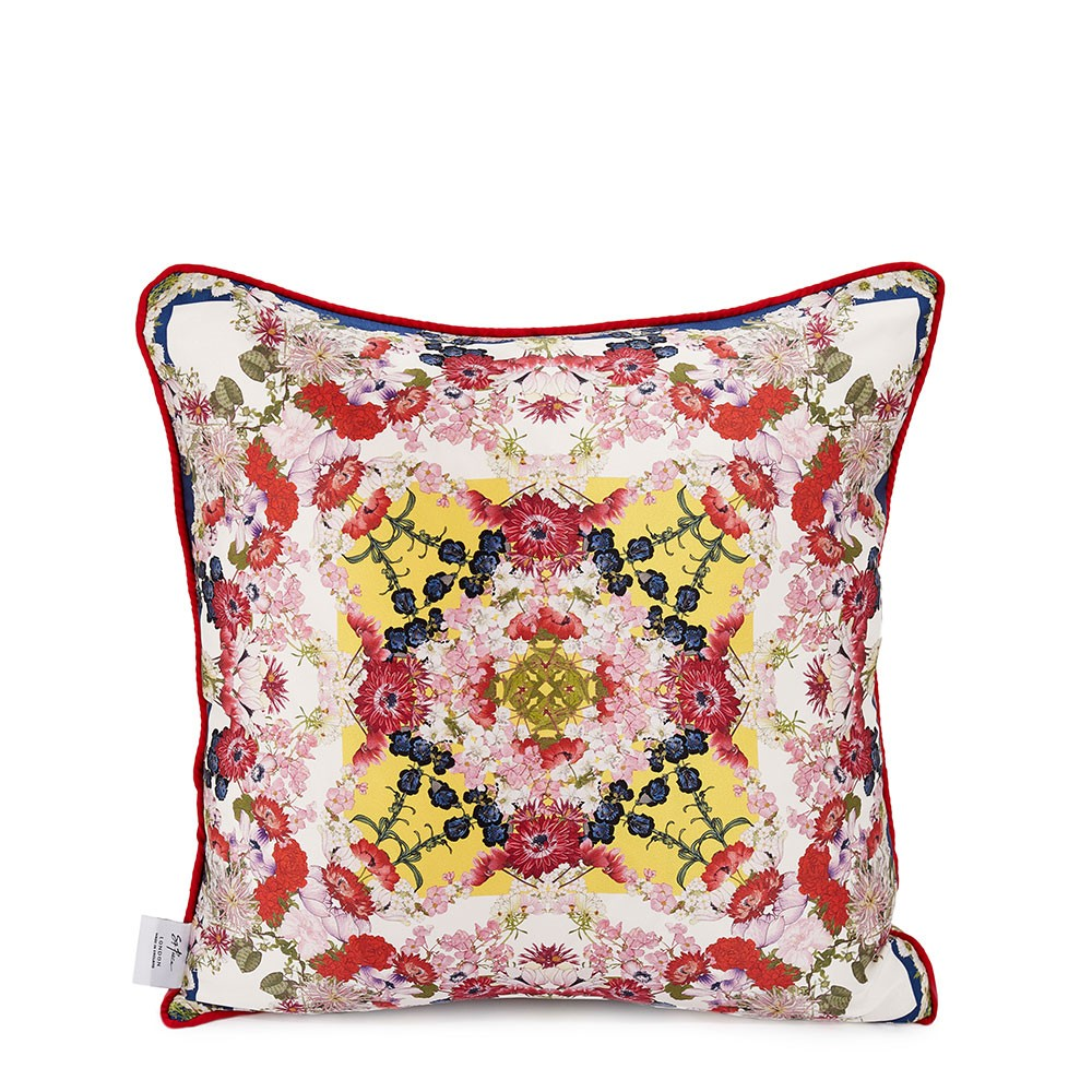 Chloris Double Side Silk Cushion Cover