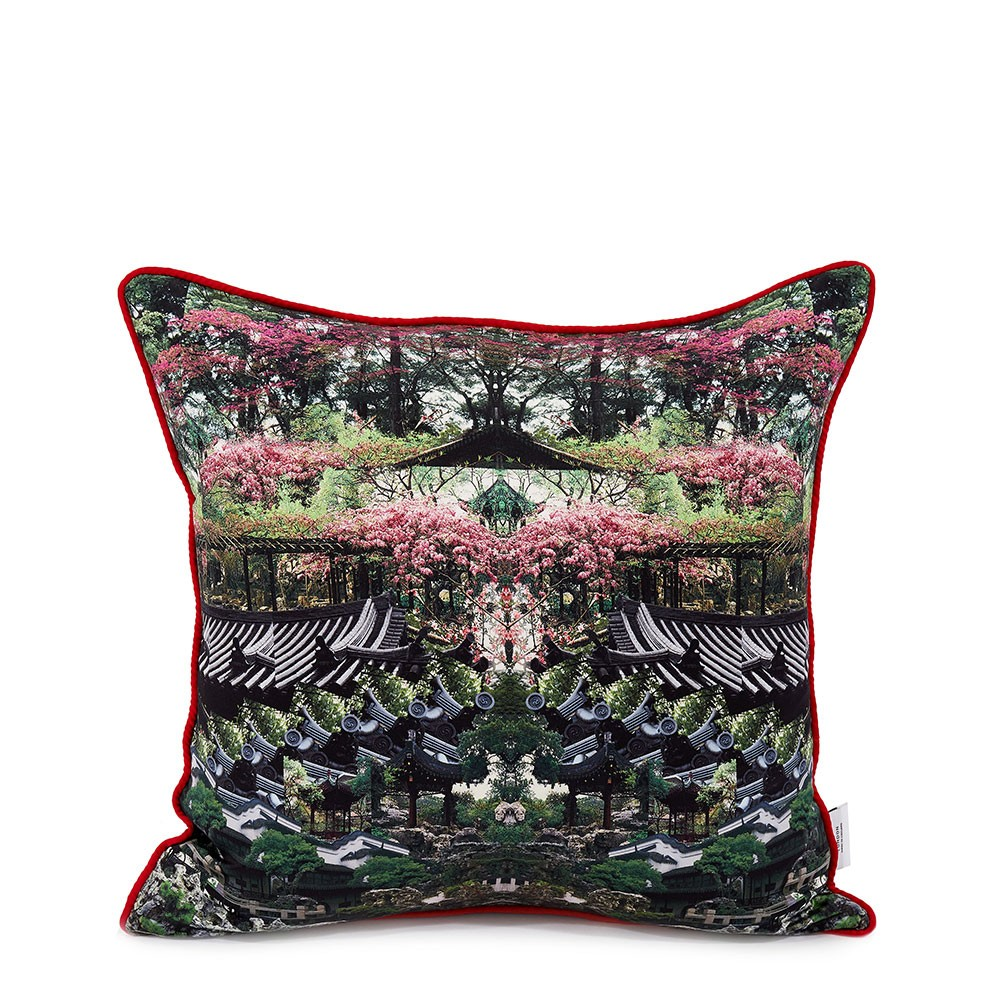 Vertumnus Double Sided Silk Cushion