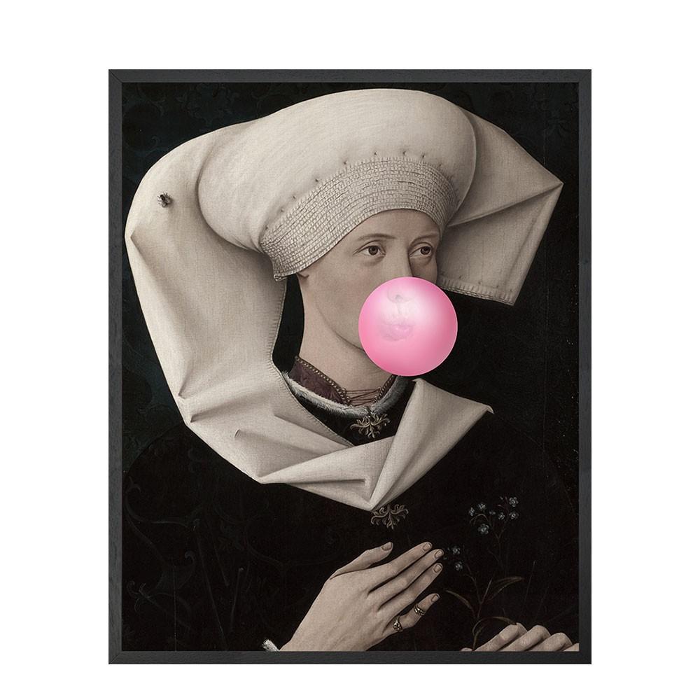 Bubblegum Portrait -2