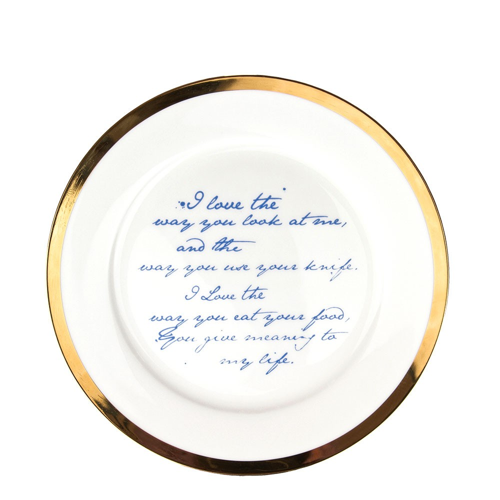 Poetry Plates (L)