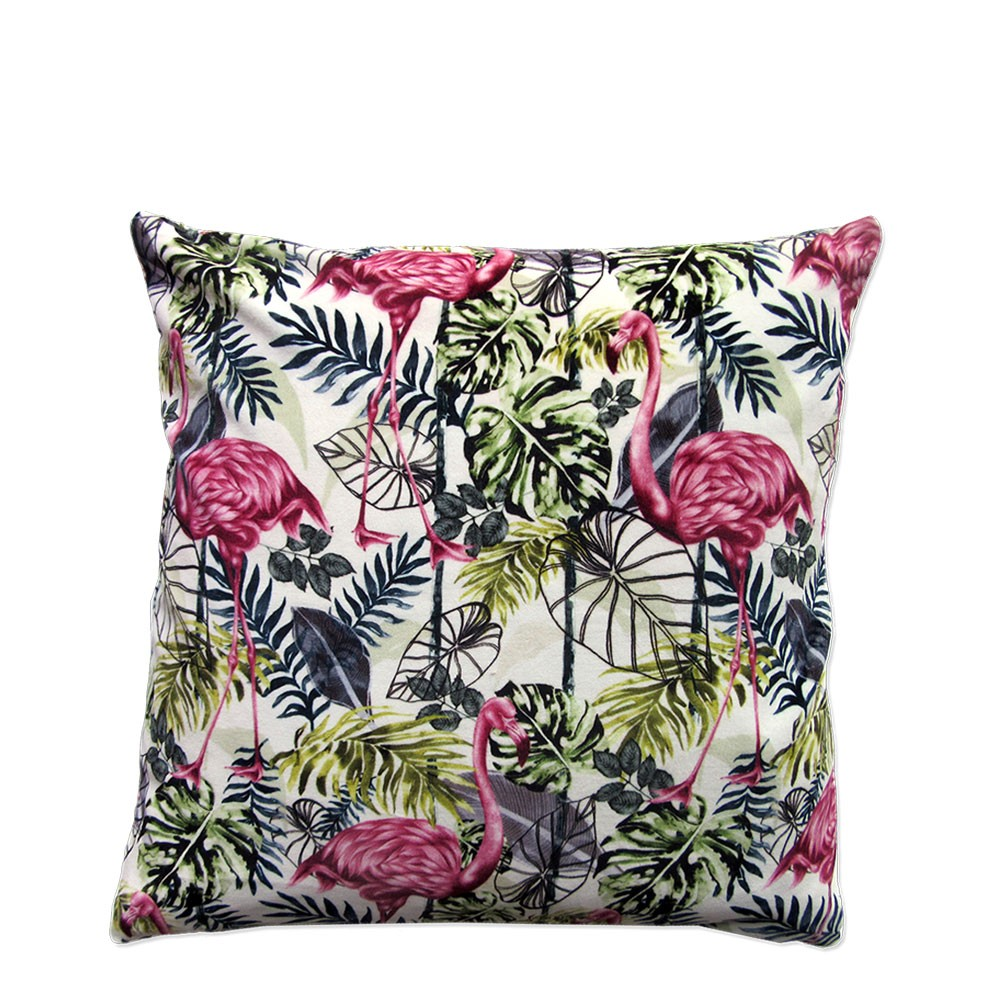 Tropical Flora Cushion Cover