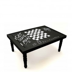 Chalk Board Coffee Table