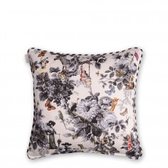 Character Polka Cushion (Black)