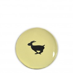 Bunny Plate - Yellow