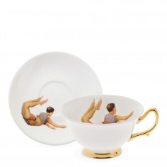 Trapeze Boy Teacup and Saucer
