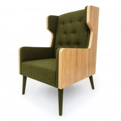 Felt Chair Green