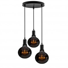 King Edison Trio Pendant Lamp - Ghost