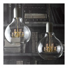 King Edison Pendant Lamp White