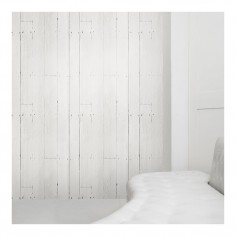 White Plank Wallpaper