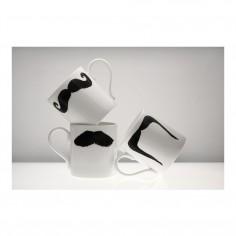 Moustache Classic Mug - Fu Magnum Black