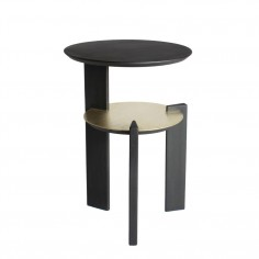 ÉPEIRE Pedestal Table - Black