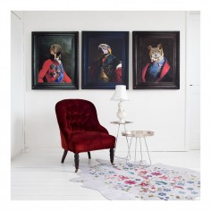 'Grandfather Olaf' Ornate Framed Canvas Print