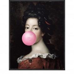 Bubblegum Portrait -1