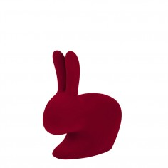 Rabbit Chair Baby Velvet Finish Red