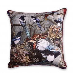 Magpie's Paradise Cushion