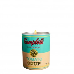 Andy Warhol Campbell Scented Candle - Turquoise/Yellow