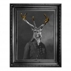 'Brother Stanwick' Gold Edition Framed Canvas Print