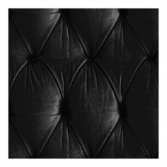 Chesterfield Button Back Wallpaper Black