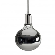 King Edison Pendant Lamp - Chrome