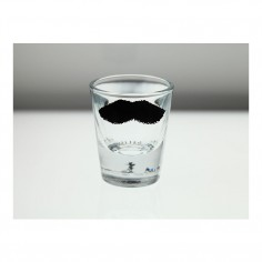 Moustache Set of 5 Shot Glasses in box