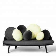 Nubilo Colours Sofa - Black/Yellow