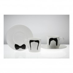 Moustache Espresso Cup & Saucer Fu Magnum