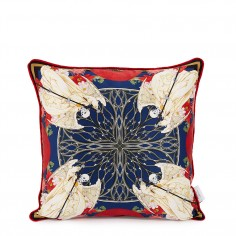 Mercury Sancus Double Sided Silk Cushion Cover