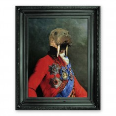 'Uncle Walter' Ornate Framed Canvas Print