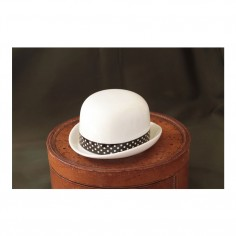 Sugar Bowl Hat - Tom (Dot Ribbon)