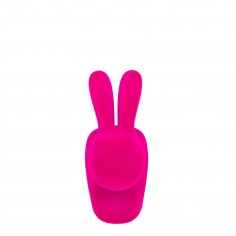 Rabbit Chair Baby - Velvet Finish  Fuchsia