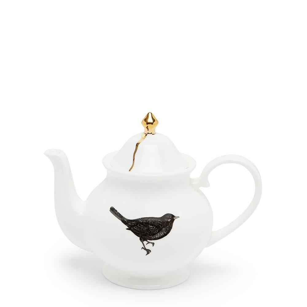 Bird and Nest Small Teapot