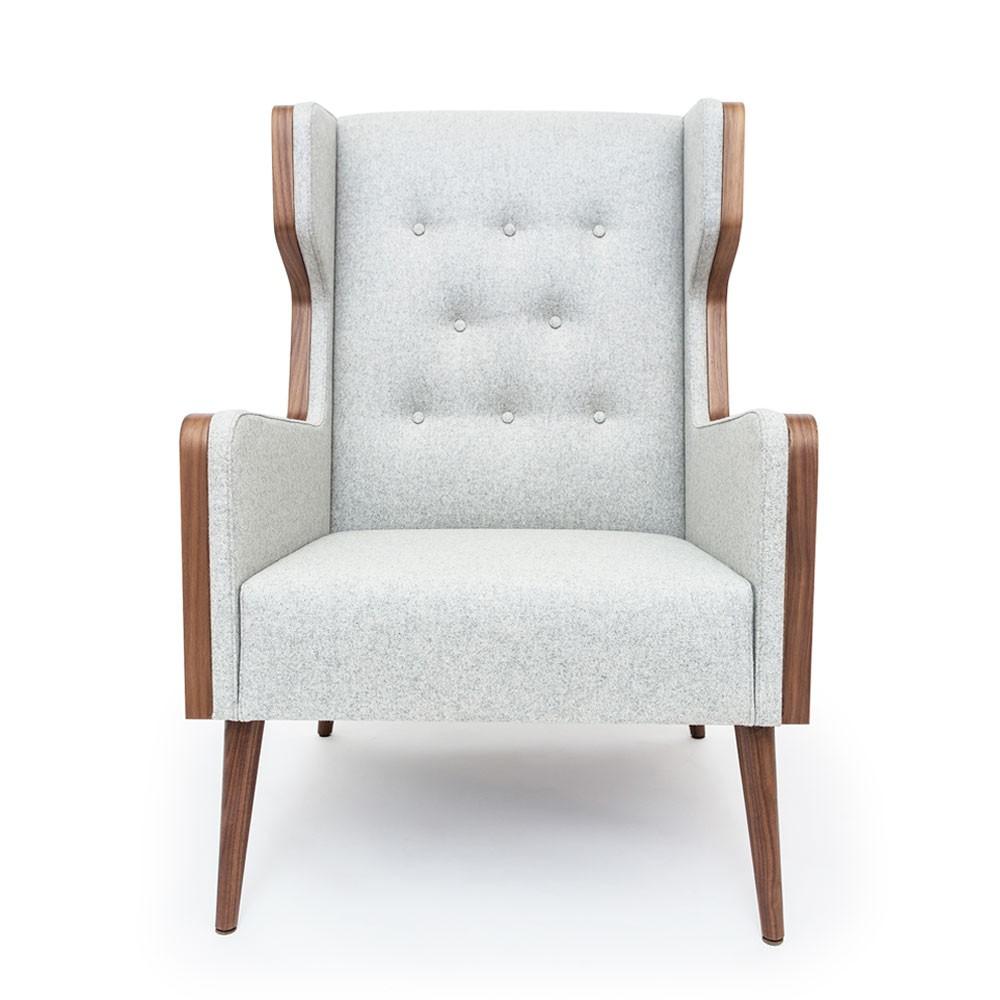 Felt Chair Grey