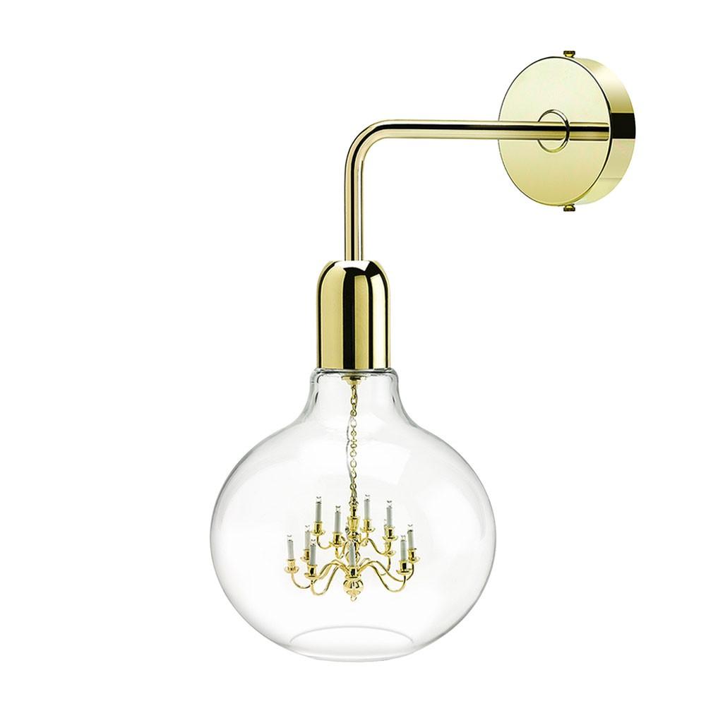 King Edison Wall Lamp - Gold