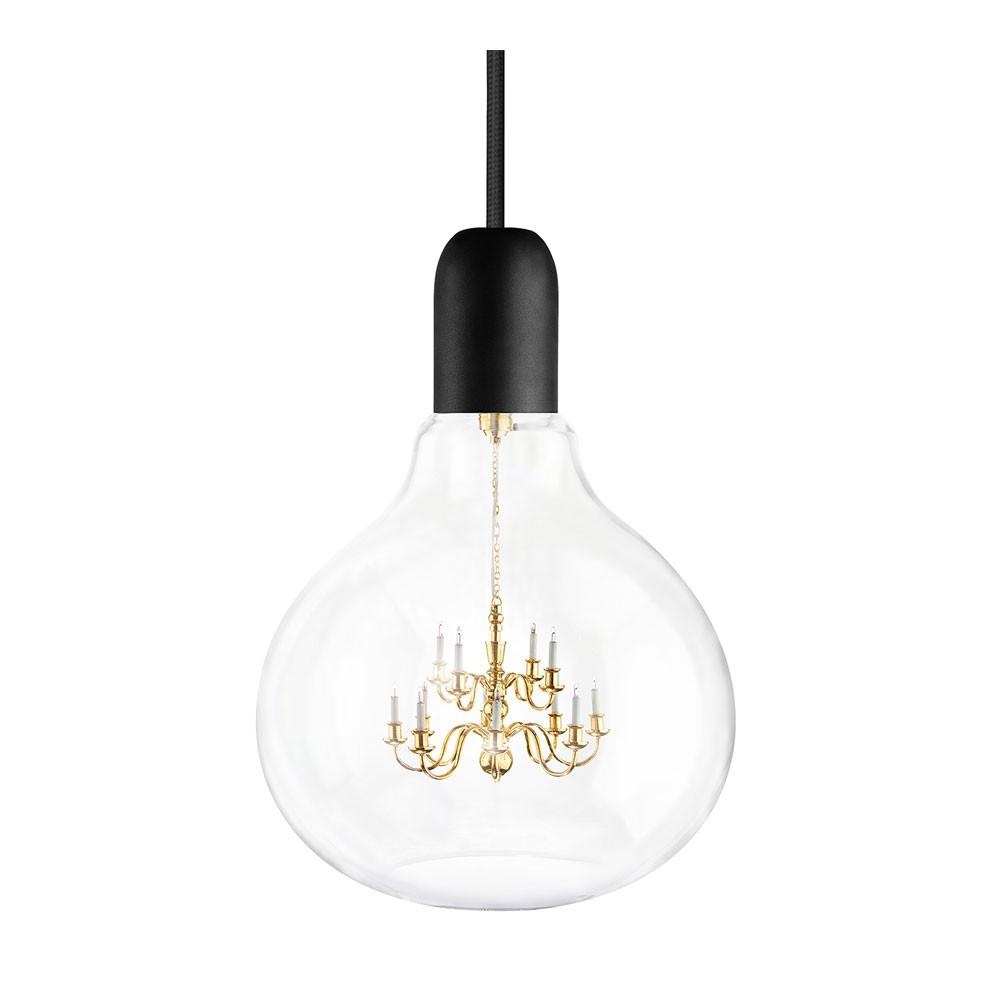 King Edison Pendant Lamp Black
