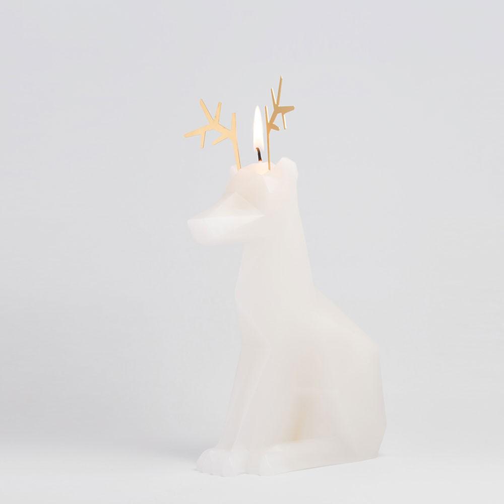 PyroPet DYRI Candle - White